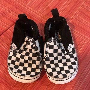 Infant Slip On Checkered Vans